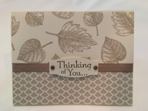 Pals Paper Crafting Picks of the Week Thoughts and Prayers Mary Fish Stampin Pretty StampinUp