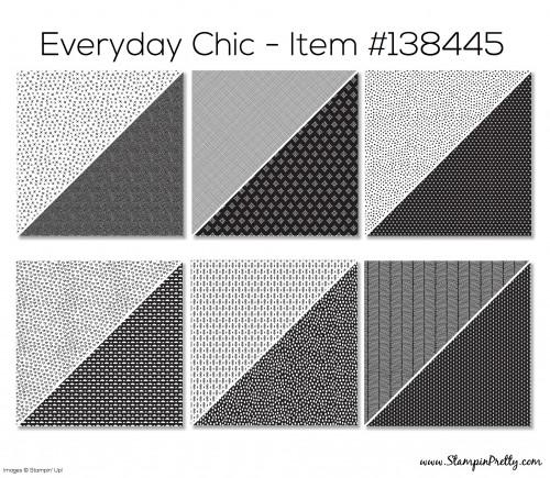 Stampin Up Everyday Chic Designer Series Paper