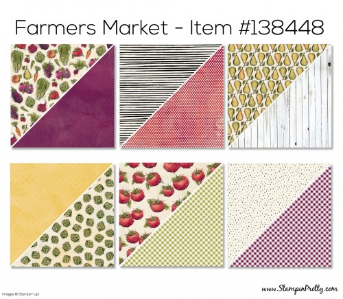 Stampin Up Farmers Market Designer Series Paper
