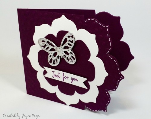 Stampin Up Floral Frames Framelits