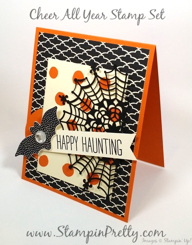 Stampin Up Halloween Card Ideas StampinUp Cheer All Year Mary Fish Stampin Pretty Demonstrator Blog Pinterest