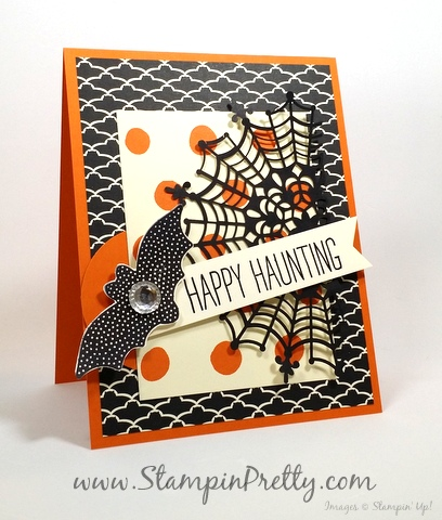 Stampin Up Halloween Card Ideas StampinUp Cheer All Year Mary Fish Stampin Pretty Demonstrator Blog
