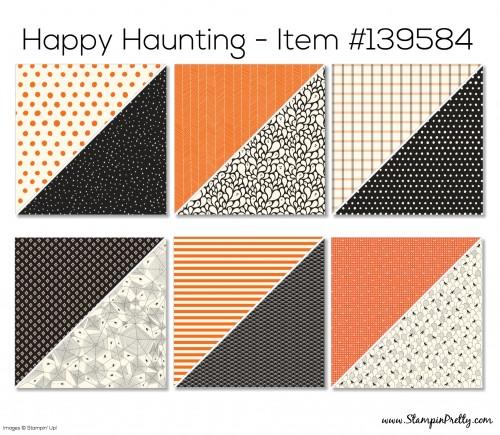 Stampin Up Happy Haunting Designer Series Paper