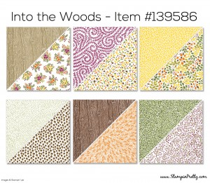 Stampin Up Into the Woods Designer Series Paper