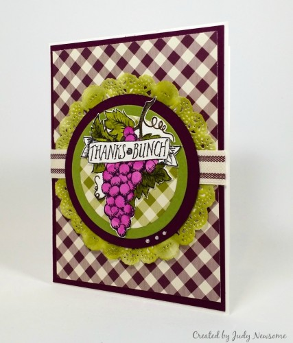 Stampin Up Market Fresh