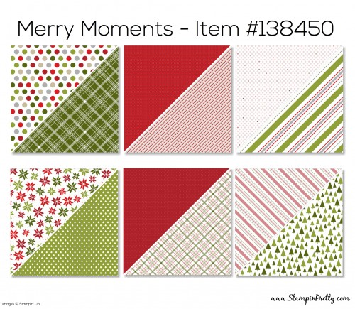 Stampin Up Merry Moments Designer Series Paper