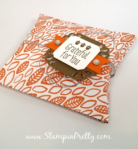 Stampin Up Pillow Box Thinlits Dies Mary Fish Stampin Pretty StampinUp Demonstrator Blog