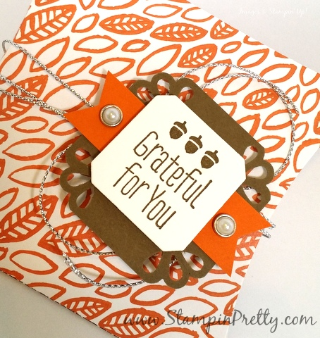 Stampin Up Pillow Box Thinlits Dies Mary Fish Stampin Pretty StampinUp Demonstrator Blog Tag