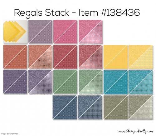 Stampin Up Regals Stack Designer Series Paper