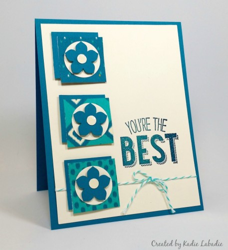 Stampin Up You're the Best