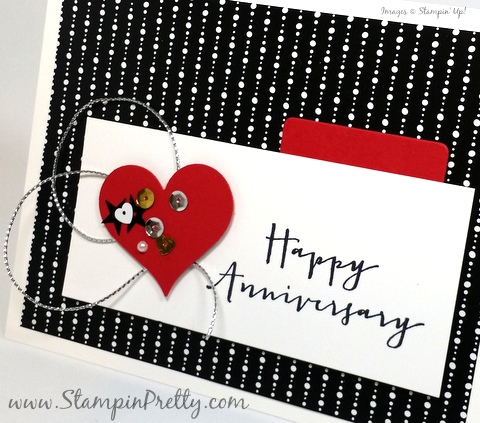 stampin up anniversary card timeless love mary fish stampin pretty demonstrator blog