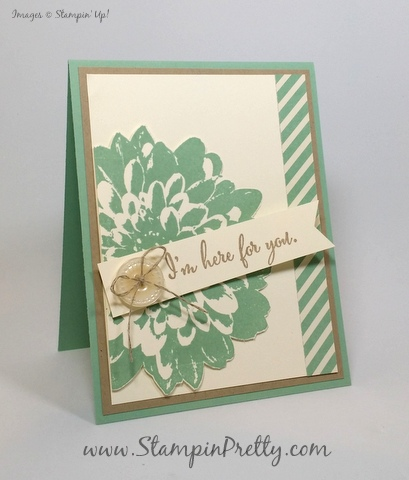stampin up definitely dahlia sympathy card mary fish stamping pretty blog