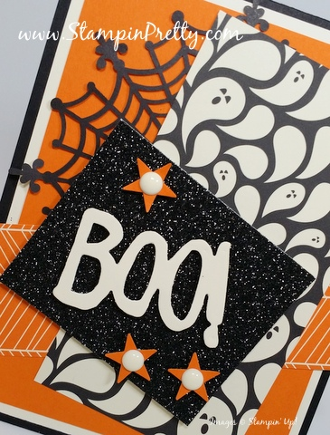 stampin up halloween card idea mary fish stampin pretty stamping up demonstrator blog spider web doily