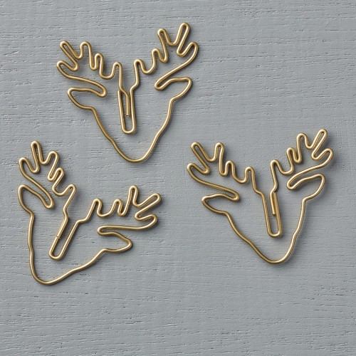stampin up reindeer paper clips