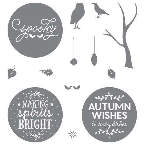 stampin up among the branches stamp set