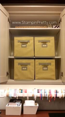 martha stewart fabric craft storage bins