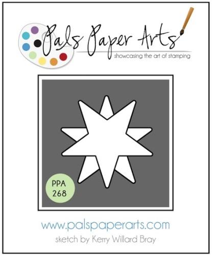 pals paper arts sketch challenge PPA268