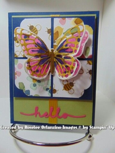 Pals Paper Crafting Card Ideas Butterfly Card Mary Fish Stampin Pretty StampinUp
