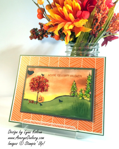 Pals Paper Crafting Card Ideas Happy Scenes Mary Fish Stampin Pretty StampinUp