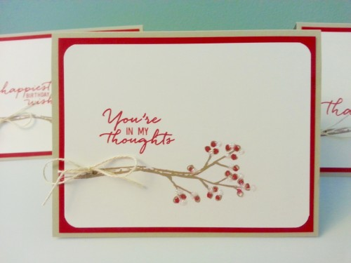 Pals Paper Crafting Picks of the Week Berry Branch Mary Fish Stampin Pretty StampinUp