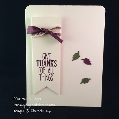Pals Paper Crafting Picks of the Week For all Things Mary Fish Stampin Pretty StampinUp