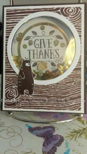 Pals Paper Crafting Picks of the Week Forest Friends Mary Fish Stampin Pretty StampinUp