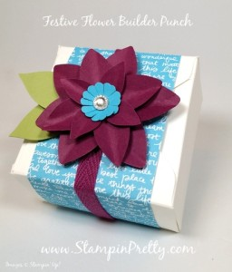 sample gift box punch board