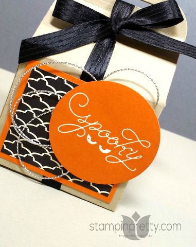 stampin up bakers box die halloween treat holder mary fish stampup
