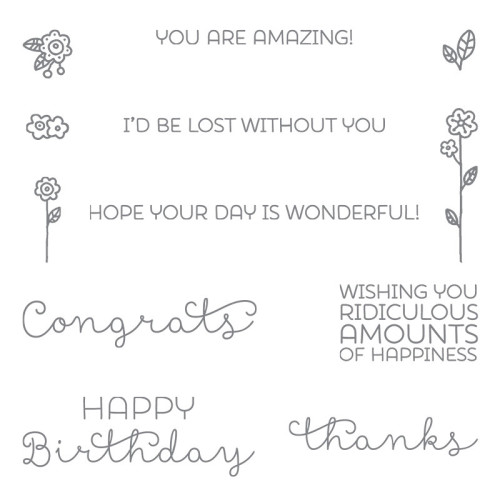stampin up cottage greetings