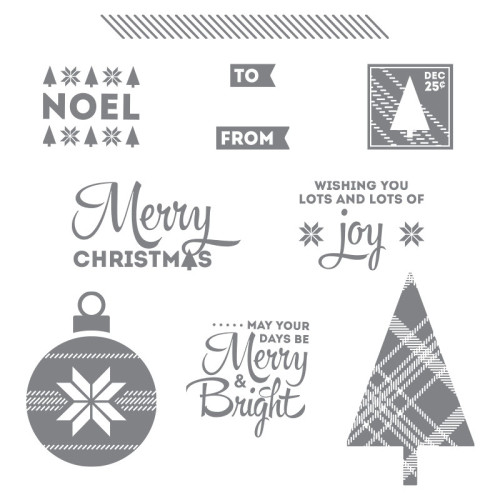 stampin up lots of joy holiday card