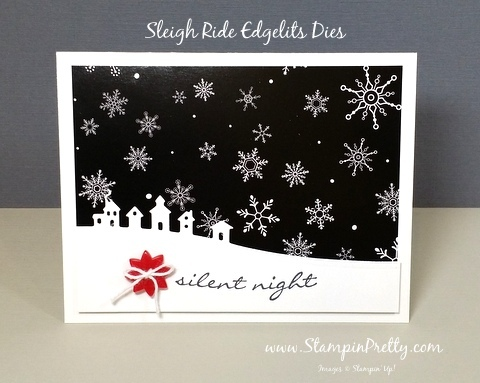 stampin up sleigh ride edgelits dies mary fish stampinup demonstrator blog