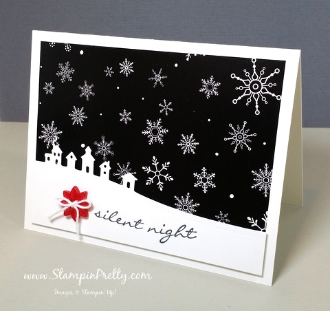 stampin up sleigh ride edgelits dies mary fish stampinup demonstrators blog