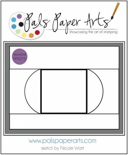 Pals Paper Arts Sketch Challenge PPA273