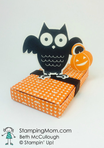 Pals Paper Crafting Card Ideas Howl o Ween Mary Fish Stampin Pretty StampinUp