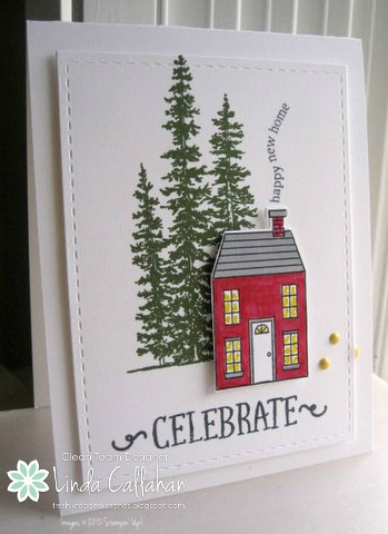 Pals Paper Crafting Card Ideas New Home Mary Fish Stampin Pretty StampinUp