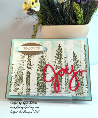 Pals Paper Crafting Card Ideas Season of Joy Mary Fish Stampin Pretty StampinUp