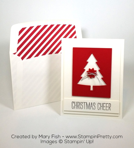 Stampin Up Perfect Pinets Framelits Dies Christmas Card Ideas by Mary Fish