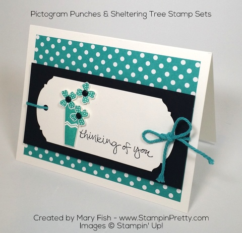 Stampin Up Pictogram Punches Ornate Tag Topper Punch Mary Fish Pinterest