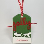 Sleigh Ride Holiday Gift Tags