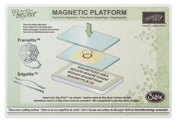 StampinUp Big Shot Magnetic Platform