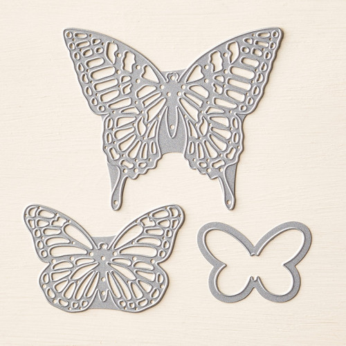 stampin up butterflies thinlits dies