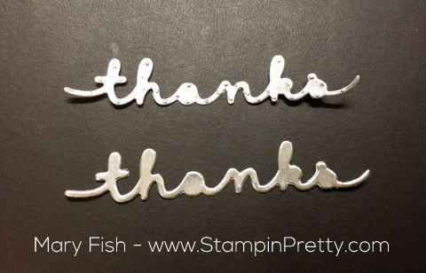 stampin up precision plate greetings thinlits mary fish