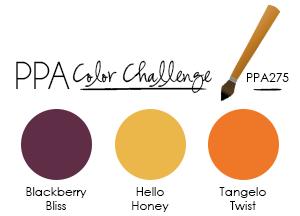 Pals Paper Arts Color Challenge PPA275