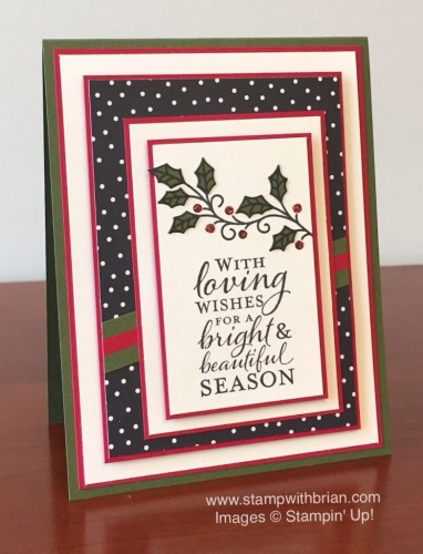 Pals Paper Crafting Card Ideas Embellished Ornaments Mary Fish Stampin Pretty StampinUp