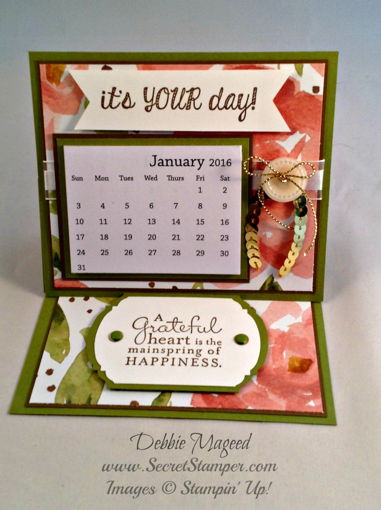 Stampin Up Calendar Ideas : Stampin up gift box and envelope punch boards d