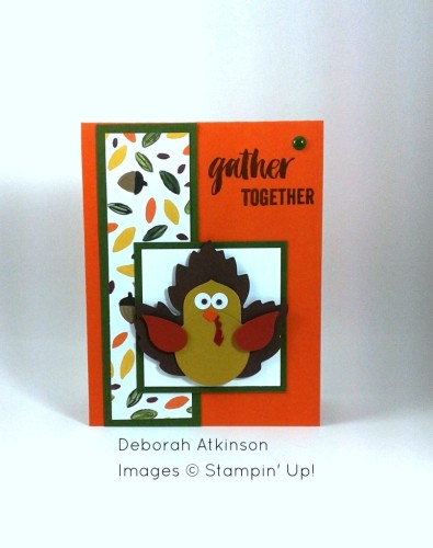 Pals Paper Crafting Card Ideas Turkey Mary Fish Stampin Pretty StampinUp