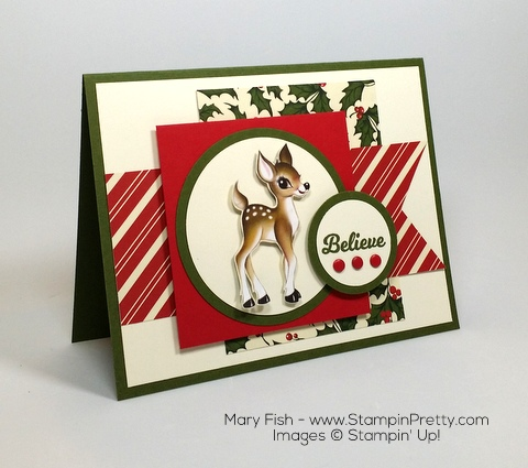 Stampin Up Home for Christmas Holiday Card Ideas By Mary Fish