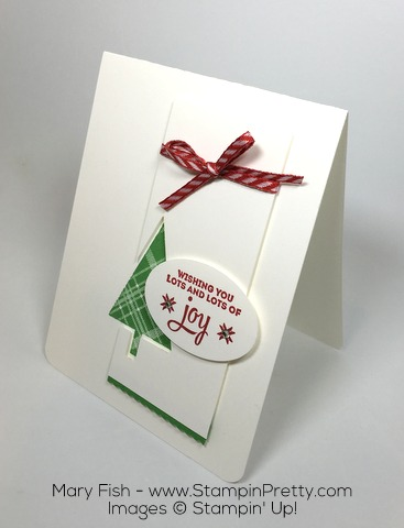 Stampin Up Lots of Joy Christmas and Holiday Card By Mary Fish