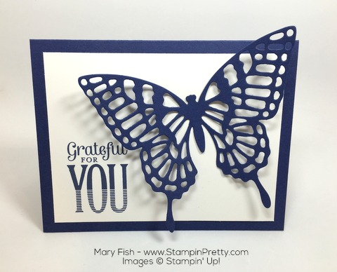 Stampin Up Merry Everything Butterflies Thinlits Dies By Mary Fish