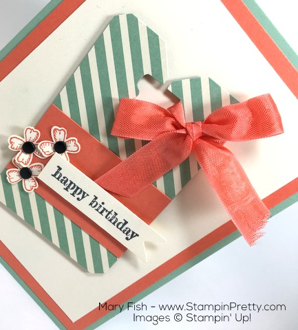 Stampin Up Something to Say Birthday Card Idea By Mary Fish